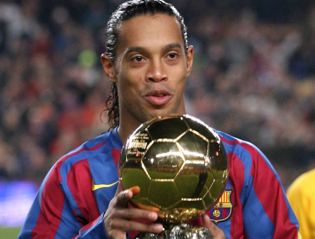 Ronaldinho is yet another exceptional player in the History of Barcelona football