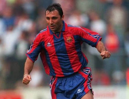 Stoichkov had an  unmatched football skills  in his time.