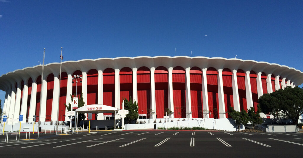 Take a closer look at The Forum Arena. Isn't it beautiful