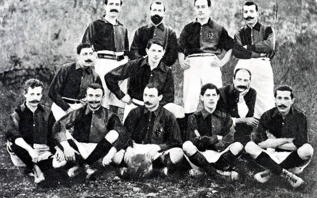 The first eleven players and sole founder of Barca Football club
