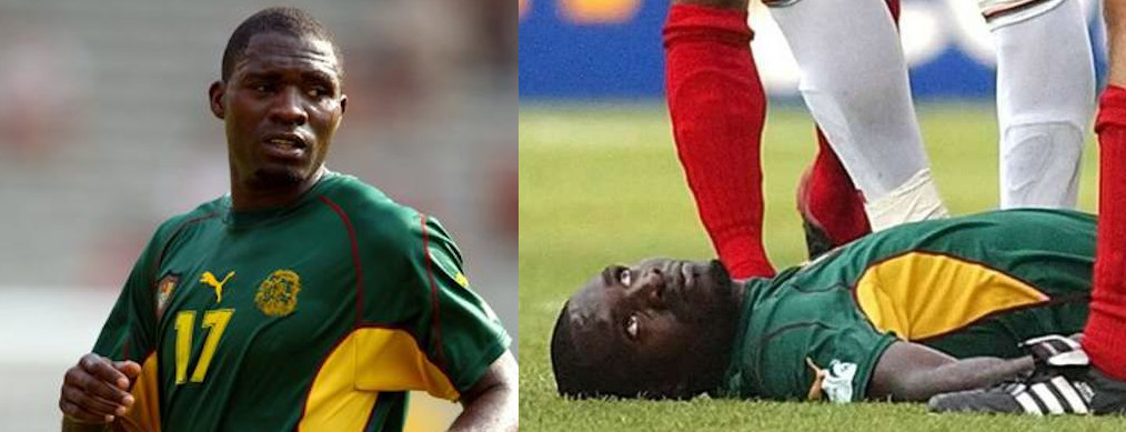 MARC-VIVIEN FOE lost his life on the pitch