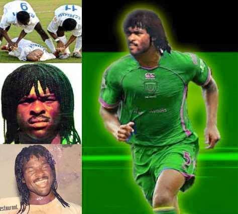 Here is the Legendary Nigerian player who met his death on the pitch.