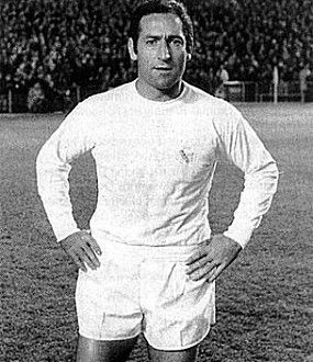 Take a look at another Real Madrid football legend, Francisco Gento