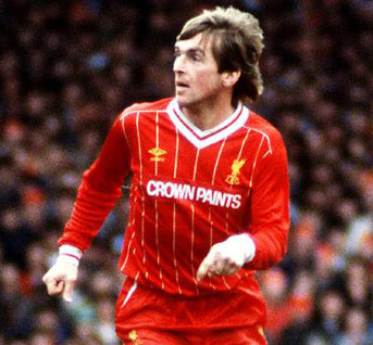Another legendary Liverpool's player, Kenny Dalglish