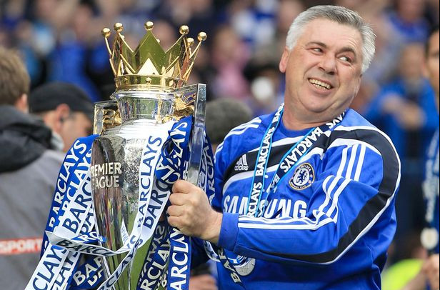 Carlo Ancelotti is ranked as the second best manager of Chelsea FC