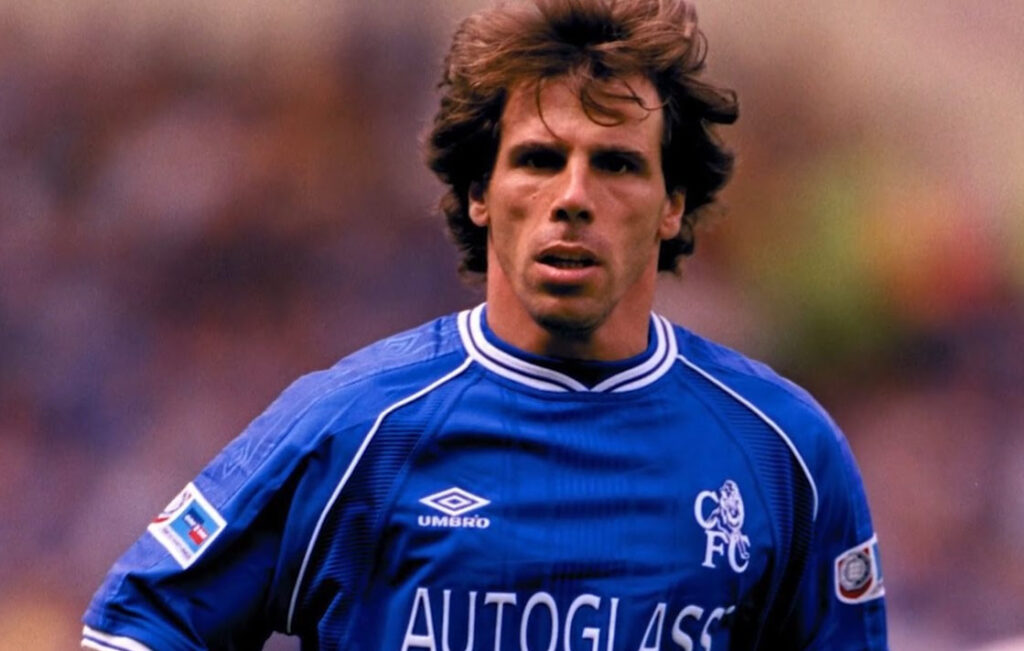 Chelsea's unforgettable player, Gianfranco Zola