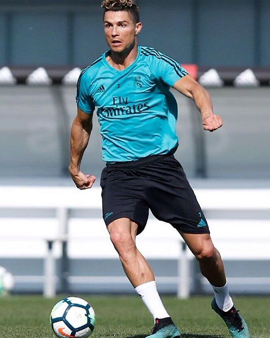 Christiano Ronaldo, one of the greatest player of Real Madrid