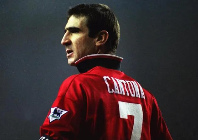 Man United's exceptional player, Eric Cantona