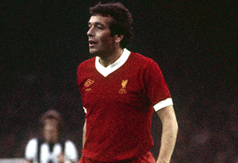 Liverpool's most capped player, Ian Callaghan