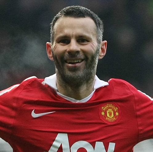 Man United most capped player, Ryan Giggs