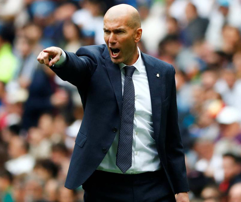 Zinedine Zidane also made a huge contributions to Real Madrid as the club's manager